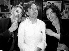 Adam Yauch a.k.a. MCA and Spike Jonze and Ezra Miller