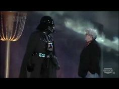 """Darth Vader and George Lucas took the stage at the Scream Awards ceremony as the Dark Lord of the Sith received the """"Ultimate Villain"""" award. The award show was broadcast on Spike TV on October 18th, 2011."""