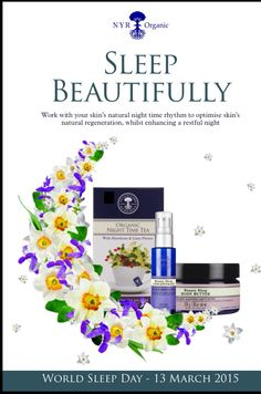 World sleep day is coming up.....we have such a range of fab products to help induce a good night :-) nighttime remedy to roll, calming oil to vape/burn/massage/bath, beauty sleep range, white tea soothing eye gel, zen Sotto diffuser to name but a few! At uk.nyrorganic.com/shop/sarah_hannant