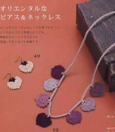 ISSUU - Crochet accessory with embroidery thread by vlinderieke