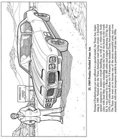 1969 Pontiac Firebird Trans Am -  Dover Publications weekly sample