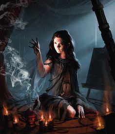 female sorceress - Google Search