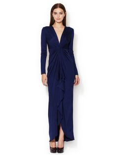 Taylor Silk Longsleeve Dress by Catherine Malandrino at Gilt