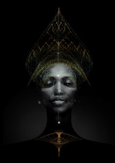 complexity people, by tatiana plakhova Black Art, Black And White, Color Black, Systems Art, Afro Punk, Photoshop Effects, Black Power, Sacred Geometry, Black Is Beautiful