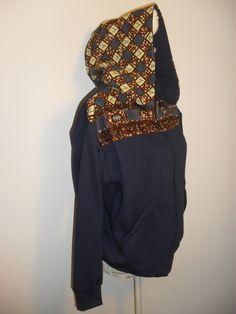 Casaco tamanho M.Para encomendar outros tamanhos ou modelos entre em contacto connosco maeafroo@outlook.pt Blue Trench Coat, Templates