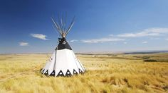 Which Indians used teepees?