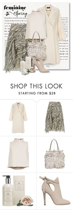 """""""*Trends - Spring Ruffles"""" by breathing-style ❤ liked on Polyvore featuring Paul Smith, Chloé, TIBI, Valentino, Cochine Saigon and Jimmy Choo"""