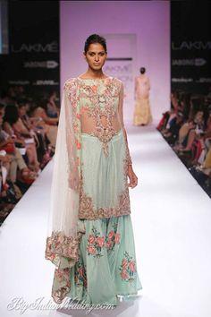 85b2631502 Zara Shahjahan Lakme Fashion Week Zara Shahjahan Collection, Designs,  Fashion Shows, Lehengas & Sarees, Pictures and Photos on Bigindianwedding