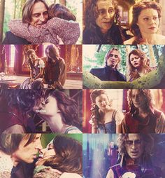I love Belle and Rumple together. He wants so badly to be a better person for her.