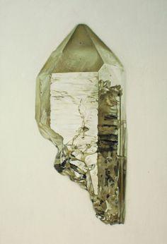 Carly Waito . smoky quartz painting