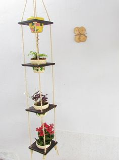 Floreira Horta Vertical Madeira Tratada