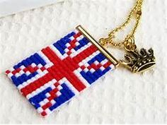 Union Jack Bead Weaving | Crafts and Misc. Till I can sort! | Pintere ...