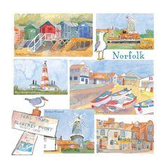 Emma Ball Scenes of Norfolk Card NEW   eBay