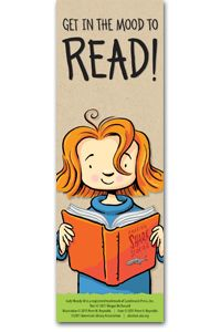 "Judy Moody Bookmark  -  Megan McDonald's bestselling Judy Moody series follows a spunky third-grader with an attitude and language all her own. This bookmark, with original art by Peter H. Reynolds is, in the words of Judy herself, ""double rare!"" Special thanks to Megan McDonald, Peter H. Reynolds, and Candlewick Press."