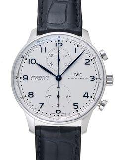 IWC ポルトギーゼ クロノグラフ IW371446 ホワイト 新品 21858