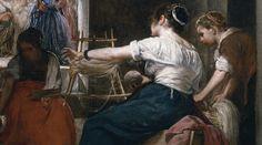 """Avec """"Les Fileuses"""", Vélasquez atteint la perfection de son art."""