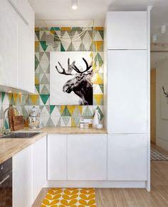 Var dags rum: Snyggt och smart inredd liten lägenhet!