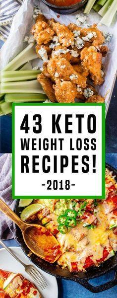 43 Keto Diet Recipes That Will Help You Burn Fat Fast In 2018! #KetogenicDietMenu