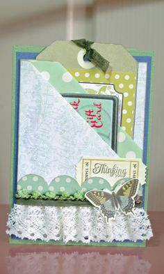Double Pocket card - published in Australian Simply Cards 53 (OD)