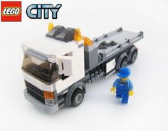 Lego City Tow Truck Flatbed: A LEGO® creation by Brian Lyles : MOCpages.com