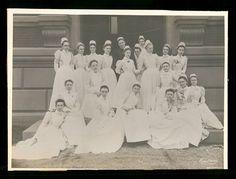Johns Hopkins Hospital School of Nursing, class of 1893 All credits go to Johns Hopkins Hospital