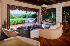 Vue panoramique depuis la chambre pour des vacances de luxe unique