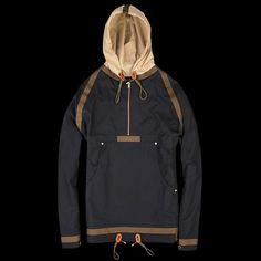 UNIONMADE - NIGEL CABOURN - Short Taped Smock in Navy