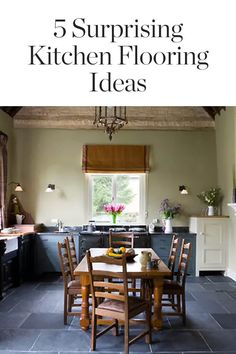 We bet you haven't thought of these kitchen flooring ideas. — via @PureWow