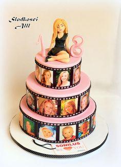 18th Birthday Cake by Alll
