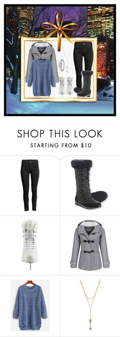 """""""Winter Time"""" by lola-twfanmily ❤ liked on Polyvore featuring L.L.Bean, Artistique, Rebecca Minkoff and Maria Tash"""