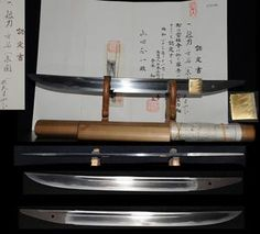 Japanese Samurai Tanto katana sword 500 years old