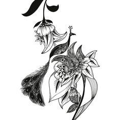 490dsn Paun Dream Catcher, Tattoos, Drawings, Dreamcatchers, Tatuajes, Tattoo, Sketches, Drawing, Portrait