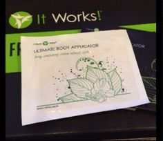 Body wrap with amazing botanical cream already in place!  summertimewraps.miles.com
