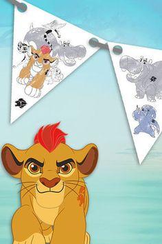 Bandierine The Lion Guard per la festa