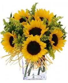 bouquets with sunflowers for weddings | Sunflower Bouquet | Sunflower Weddings