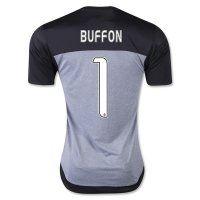 Juventus 2015-2016 Season BUFFON #1 Goalkeeper Soccer Jersey