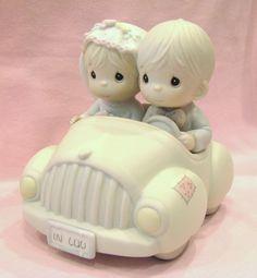 Precious Moments Wishing You Roads Of Happiness Figurine