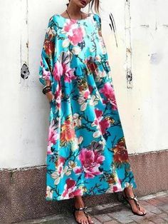 Product Casual Round Neck Long Sleeve Pleated Printed Colour Loose Dress Brand Name Shekeysshop SKU Gender Women Style Country Summer Dresses, Casual Formal Dresses, Elegant Dresses, Snake Print Dress, Evening Dresses For Weddings, Wedding Dresses, Skirt Fashion, Work Fashion, Short Sleeve Dresses