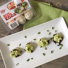 Avocado Egg Salad Bites Recipe Using Hard Boiled Eggs, Hard Boiled Egg Recipes, Cooking Hard Boiled Eggs, Avocado Egg Salad, Tuna Salad, Chicken Salad, Salad Recipes, Snack Recipes, Snacks
