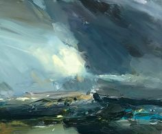 """""""south coast sky 4/3"""" There were some great clouds down here on the south coast over the weekend... #modernart #architects  #painter"""