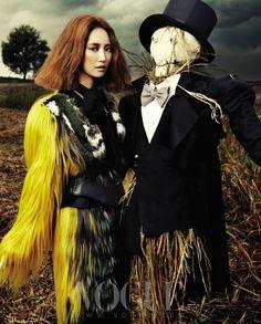Bewitch the Dark, Vogue Korea November 2012