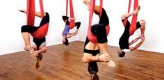 Aerial yoga: Lassen Sie Ihren Körper hängen … und sehen Sie das Leben aus einem anderen Blickwinkel !!!