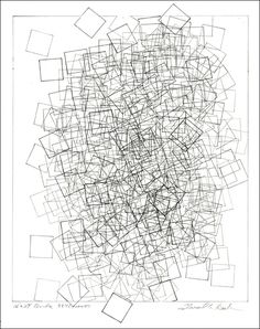 Grid Drawing by Edward A. Burke - Art Contests for money and prizes www.Art-Competition.com