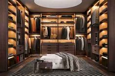 Most stylish Dressing Rooms and most beautiful Luxury Master Bedrooms from all around the world in one place! Stylish walk in closet design ideas; Men Closet, Wardrobe Closet, Closet Bedroom, Closet Mirror, Master Closet, Diy Bedroom, Walking Closet, Walk In Closet Design, Closet Designs