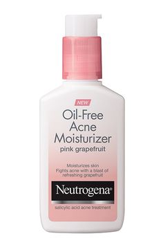 Neutrogena's iconic Pink Grapefruit cleanser gets another partner in crime. The brand is releasing an oil-free acne moisturizer in the fan-favorite scent. Some things are seriously sweeter in pairs.Neutrogena Oil-Free Acne Moisturizer, $8.49, available mid-January at Neutrogena.