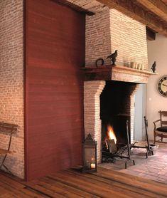 Lambris PVC, MDF : 20 modèles - Côté Maison Flooring, Design, Home Decor, Inspiration, Shopping, Wall Cladding, Red, Bedrooms, Eat