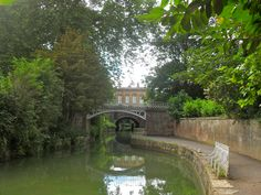 The canal at Sydney Gardens.