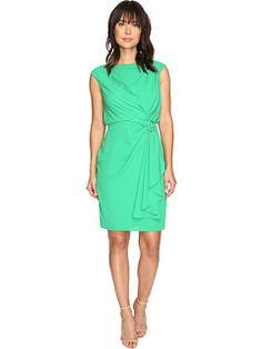Sangria Drape Dress