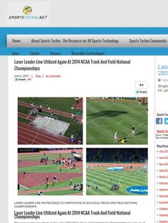 First Down Laser in the News by Alan B. Amron via slideshare