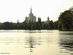 Herastrau Park in Bucharest.